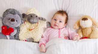 Уход за ребёнком и развитие с рождения по месяцам
