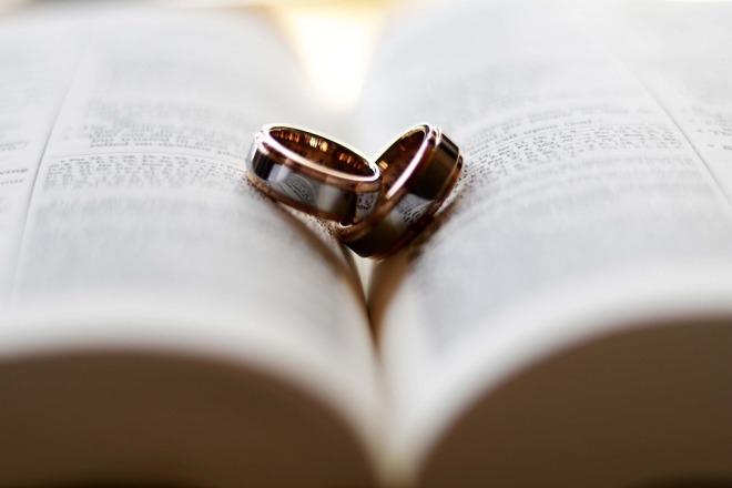 Свадебные кольца как атрибут брака