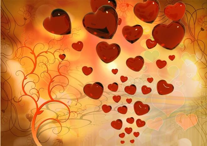 Сердечки символ любви