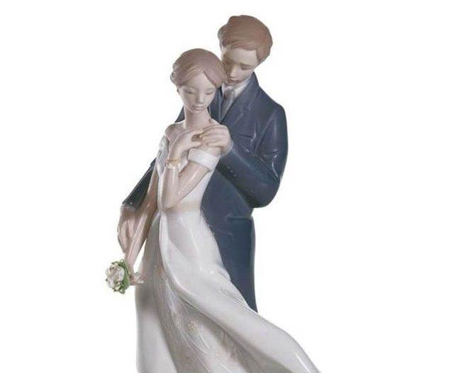 фарфоровая статуэтка пары