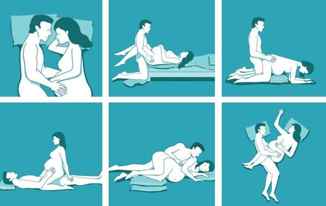 Интимная близость позы
