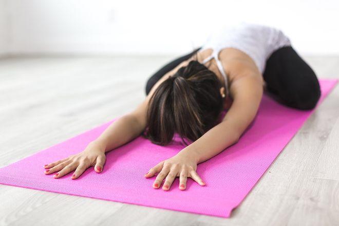 Тренировка на коврике