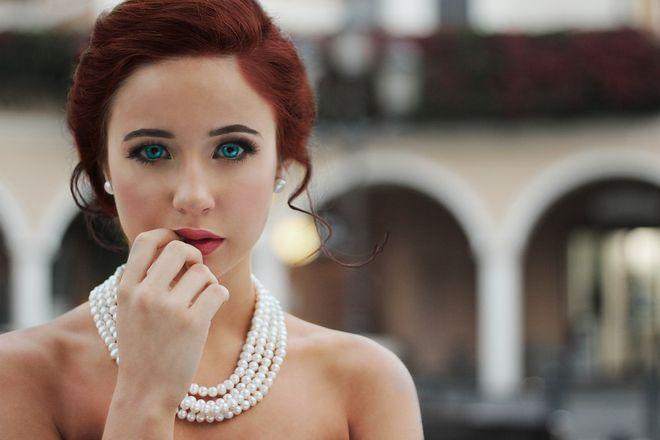 Красивая девушка невеста
