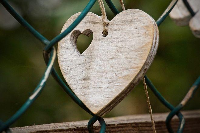 Сердечко из дерева