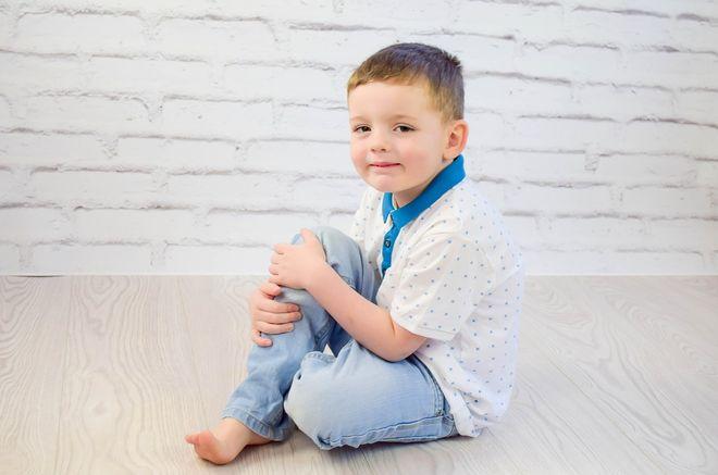 Мальчик четырехлетний