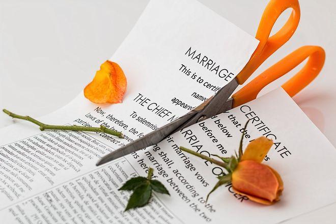 Бракоразводный документ