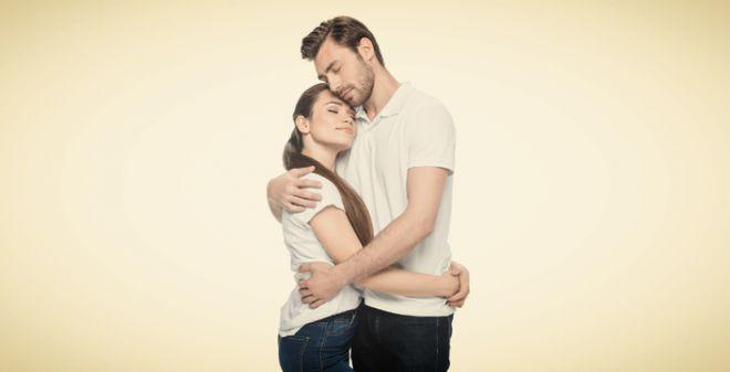 Влюбленные супруги