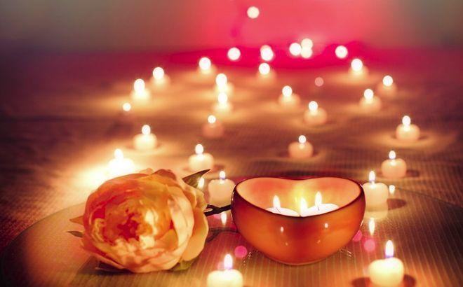 Свечи для влюбленных